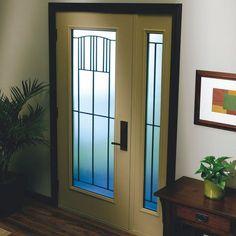 Thermatru Saratoga decorative door glass insert Saratoga glass ...
