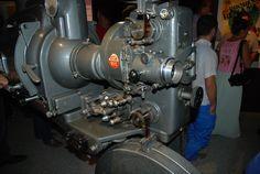 Como hemos dicho, al museo no le falta de nada, máquina de cine, desde la que se proyectó la famosa película dedicada a la Duquesa de Benamejí