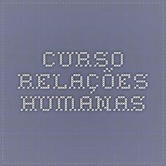 CURSO RELAÇÕES HUMANAS