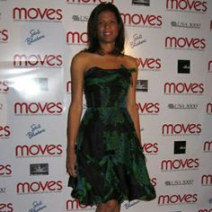 Robin Wilson on red carpet for NY MOVES magazine Power Women event, wearing Anna Sui, 2007 Robin Wilson, Strapless Dress Formal, Formal Dresses, Anna Sui, Viera, Powerful Women, Red Carpet, Magazine, How To Wear