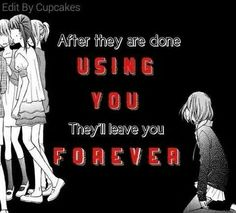 They'll leave you forever