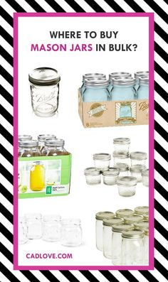 Where to buy mason jars in BULK?