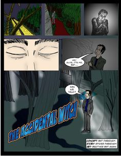 The Accidental Witch: 0: The Fool (Prologue pg 1)