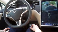 Tesla cars gain self-driving abilities - overnight