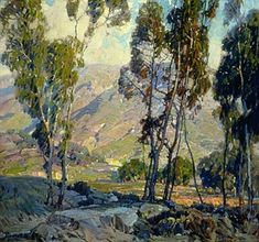 Hanson Puthuff (1875-1972) - *Flame of Sunset*