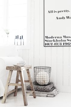 Beautiful and simple nordic decoration. kjerstis lykke