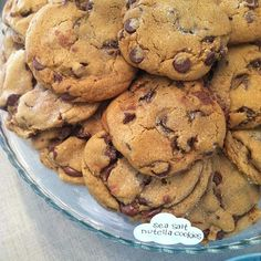 sea salt, nutella stuffed cookies.personally tried these very cookies and they were beyond amazing! :)