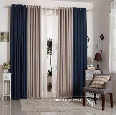Linho fino linho macabeus blackout grossas sólida estudo de engenharia moderno minimalista sala de estar cortinas personalizadas
