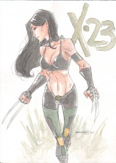 X-23 by Talent Caldwell