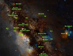Oggetti del centro galattico