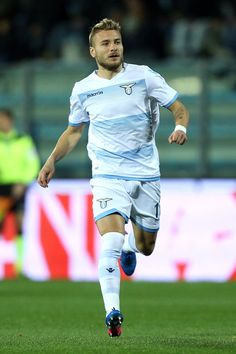 Ciro Immobile of SS Lazio in action during the Serie A match between Empoli FC and SS Lazio at Stadio Carlo Castellani on February 18, 2017 in Empoli, Italy.