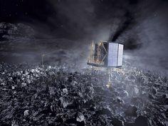 彗星探査機ロゼッタ 着陸機フィラエ