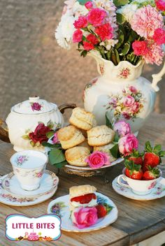 Vintage wedding table, or tea party