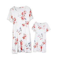Mother daughter dresses Floral Dress Family matching clothes Mother and daughter  clothes mom and daughter dress matching outfits 09d8b08d177f