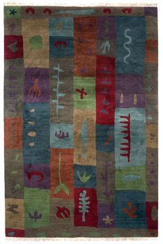 Block Print By A Rug For All Reasons Perennial Favorite This
