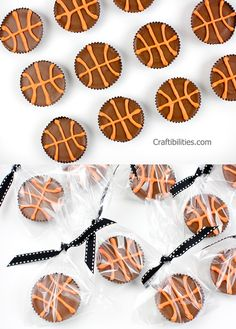 BASKETBALL team treats - GREAT IDEAS! Quick and Easy - End of the season PARTY!