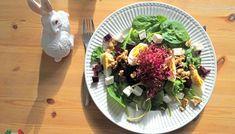 Przepyszna sałatka ze szpinakiem, fetą, suszonymi pomidorami i gruszką! – Eat Me Fit Me! :) Cobb Salad, Feta, Chicken, Cubs