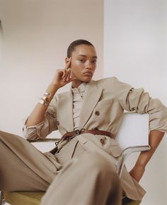 Lameka Fox by Benjamin Vnuk x Laura Stoloff for WSJ Magazine - Minimal. / Visual.