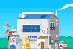 ほんのり哀愁漂うドット絵のキュートなGIFアニメが集まる「1041uuu」 - GIGAZINE