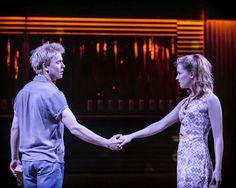 Freddie Fox and Morfydd Clark in Romeo & Juliet at Sheffield Theatres
