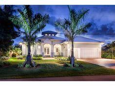 Plan WE  Florida Beach House   Cupola   Florida Beach    Key West Style Beach house   waterfront  Royal Harbor in Naples  FL