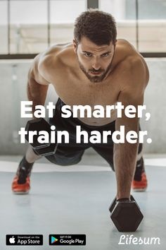 Train at the gym and shred in the kitchen. All new diet plans from Lifesum are what you need to take your fitness to the next level.