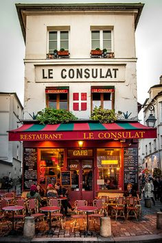 Montmartre, Paris | La Beℓℓe ℳystère