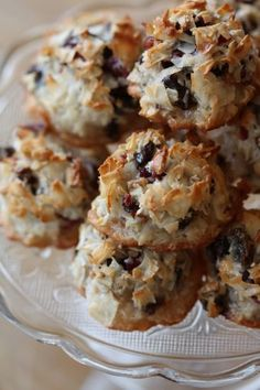 """Coconut """"Haystack"""" Macaroons – inspired by my friend and Baking and Pastry instructor from the CIA Thomas Gumpel"""