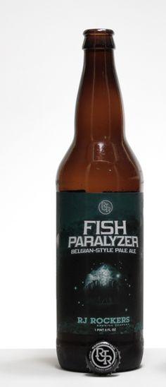 Fish Paralyzer Pale Ale. RJ Rockers Brewing Co.