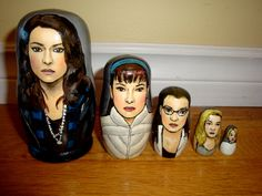 #FandomFriday: Declare Your Clone Love With These #OrphanBlack Goodies - Nesting dolls  #CloneClub