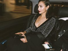 Inside Gal Gadot's Wondrous First Givenchy Show, photographed by Meital Weinberg Adar in Paris. Hollywood Actor, Hollywood Celebrities, Actress Eva Green, Gal Gadot Wonder Woman, Show Beauty, Beauty Inside, Cute Woman, Fashion Pictures, Nice Dresses