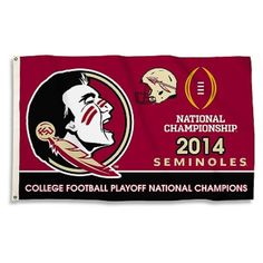 NCAA Florida State Seminoles Rose Bowl BSI 3 x 5 Flag