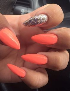 20 Worth Trying Long Stiletto Nails Designs - Style & Designs #PopularNailShapes