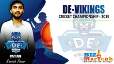 Bizmartech Championship 2019  Team DE-Vikings  #team #championship #cricket #ground #fun #sports #skills Cricket, Vikings, Champion, Activities, Business, Sports, Movies, Fun, Hs Sports