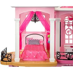 Barbie Dream House Playset with 70 Accessories - New Ideas Dreamhouse Barbie, Barbie Doll, Dream House Interior, Dream Home Design, Home Bedroom, Kids Bedroom, Barbie Dream House, Garage House, Garage Doors