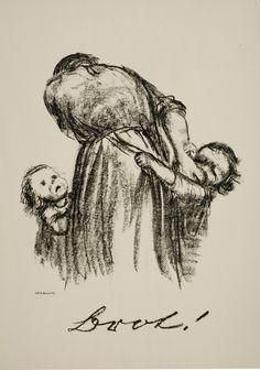 Kathe Kollwitz, German (1867 - 1945)