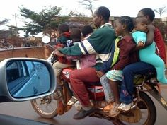 Who ever said motorcycles weren't family friendly? ;)