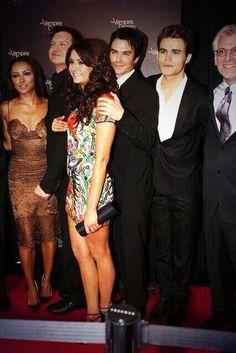 Ian Somerhalder - The Vampire Diaries 100 episodes celebration party (Nov 9, 2013)