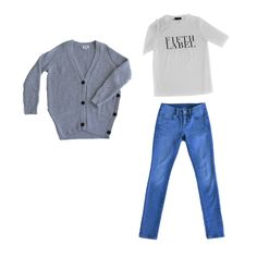 Collectabl Winter Capsule Wardrobe   Oversized sweater   Graphic tee   Jeans