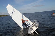 Winboat F460SB - Foldable sailboat - Find more on www.winboat.net