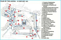Hellenistisk tid: Agora, Athen, ca. 150 f.Kr.