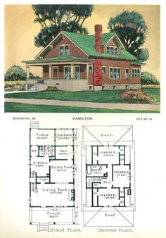 Building Service (House plans). c. 1920.  From the Association for Preservation Technology (APT) - Building Technology Heritage Library, an online archive of period architectural trade catalogs. It contains hundreds of old house plan catalogs. Select your era and flip through the pages.