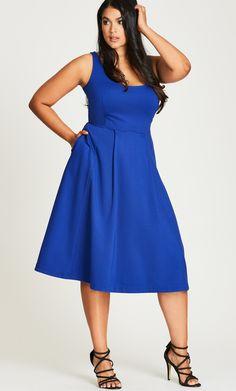Women's Plus Size Classic Longline Dress | City Chic USA