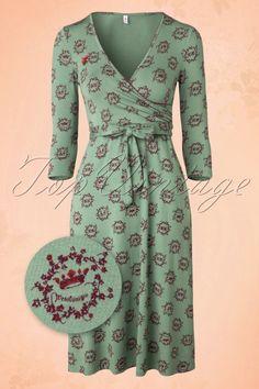 Blutsgeschwister  Her Highness Green Dress 102 49 15744 20150715 0006W2