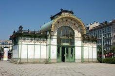 Бывшая станция городской железной дороги «Карсплац», арх. О.Вагнер, 1894-1899