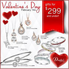 See these styles and more great gift options in our Valentine Catalog!  Click here: