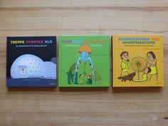Drei großartige Bände: über zeitgenössische Kunst, Design und ausgefallene Architektur.