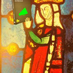 Medieval stained glass lady looking engrossed Medieval Stained Glass, Stained Glass Windows, Change The World, Looking For Women, Neon Signs, Reading, Lady, People, Painting