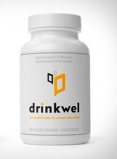 Now there's a Vitamin for People who Drink | Please follow me on Twitter @AGBStyle