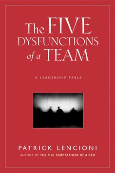 """The Five Dysfunctions of a Team: A Leadership Fable by Patrick Lencioni""  If you're in any form of leadership, I HIGHLY recommend this book."
